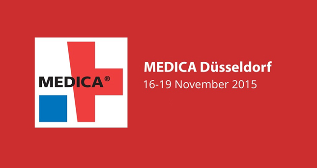 We are at Medica Fair from November 16 to Nov