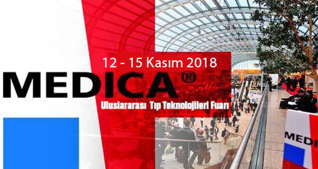 We are at Medica Fair from November 12 to Nov