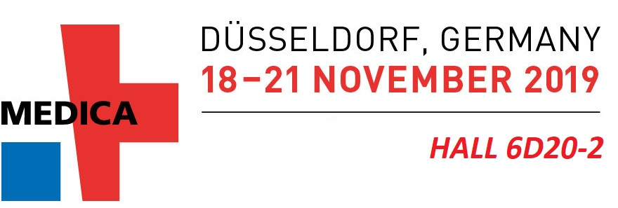 We are at Medica Fair from November 18 to Nov